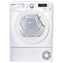 Buy Hoover Dynamic Mega DMHD1013A2 Freestanding Heat Pump Tumble Dryer, 10kg Load, A++ Energy Rating, White Online at johnlewis.com