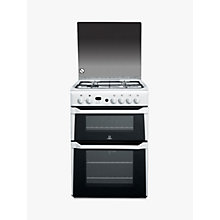 Buy Indesit ID60G2W Gas Cooker, White Online at johnlewis.com