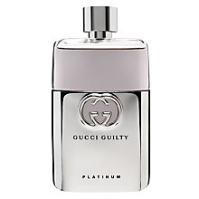 Buy Gucci Guilty Platinum Edition Pour Homme Eau de Toilette Online at johnlewis.com