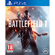 Buy Battlefield 1, PS4 Online at johnlewis.com
