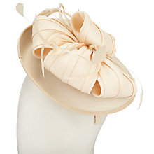Buy John Lewis Shantung Disc Bow Fascinator Online at johnlewis.com