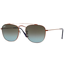 Buy Ray-Ban RB3557 Square Sunglasses Online at johnlewis.com