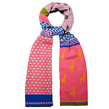 Buy White Stuff Gerri Giraffe Patchwork Scarf, Multi Online at johnlewis.com