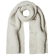 Buy White Stuff Louise Loop Scarf, Winter White Online at johnlewis.com