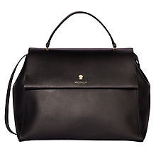 Buy Modalu Heather Top Handle Leather Satchel Bag Online at johnlewis.com