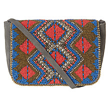 Buy AND/OR Amelie Motif Clutch Bag, Multi Online at johnlewis.com