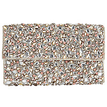 Buy John Lewis Asta Crystal Clutch Bag, Ivory Online at johnlewis.com