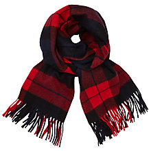 Buy Minimum Gry Check Scarf Online at johnlewis.com