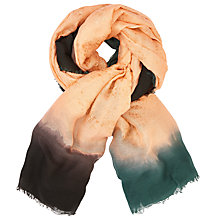 Buy Becksondergaard Rachel Printed Scarf, Dusty Coral Online at johnlewis.com