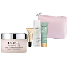 Buy Caudalie Resveratrol Face Lifting Soft Cream with  Gift Online at johnlewis.com