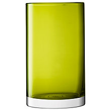 Buy LSA International Cylinder Vase, Olive Online at johnlewis.com