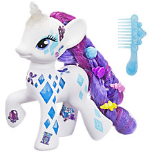 Buy My Little Pony Cute Mark Magic Glitter Glow Rarity Online at johnlewis.com