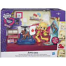 Buy My Little Pony Equestria Girls Minis AppleJack Slumber Party Games Set Online at johnlewis.com