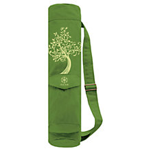 Buy Gaiam Tree of Wisdom Canvas Mat Bag, Green Online at johnlewis.com