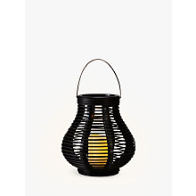 Buy John Lewis Large LED Cabot Bell Outdoor Lantern, Brown Online at johnlewis.com