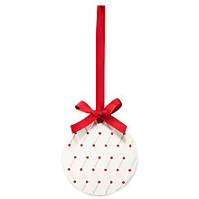Buy Jo Malone London Scented Ceramic Christmas Ornament Online at johnlewis.com