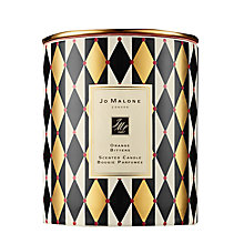 Buy Jo Malone Lonodn Orange Bitters Scented Christmas Candle Online at johnlewis.com