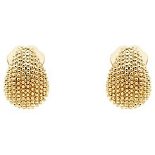 Buy Monet Textured Mini Clip-On Earrings Online at johnlewis.com