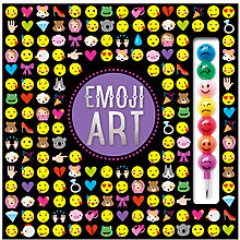 Buy Emoji Art Activity Book Online at johnlewis.com
