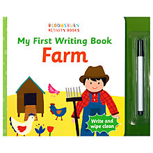 Buy My First Writing Book Farm Children's Book Online at johnlewis.com
