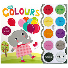 Buy Little Friends Colours Board Book Online at johnlewis.com