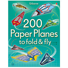 Buy 200 Paper Planes To Fold and Fly Book Online at johnlewis.com