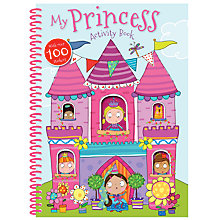 Buy My Princess Sticker and Activity Book Online at johnlewis.com