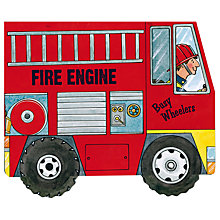 Buy Busy Wheelers Fire Engine Children's Book Online at johnlewis.com