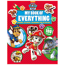 Buy My Book Of Everything, Paw Patrol Online at johnlewis.com