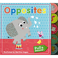 Buy Pull and Discover Opposites Children's Book Online at johnlewis.com