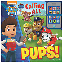 Buy Paw Patrol My Own Phone Mini Deluxe Sound Book Online at johnlewis.com