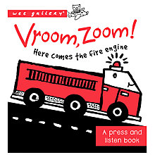 Buy Wee Gallery Vroom, Zoom! Children's Book Online at johnlewis.com
