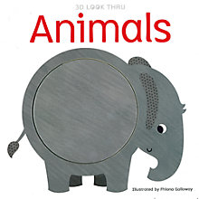 Buy 3D Look Through Animals Children's Book Online at johnlewis.com