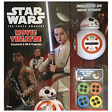Buy Star Wars Movie Theatre Storybook and BB-8 Projector Book Online at johnlewis.com