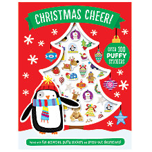 Buy Christmas Cheer Sticker and Activity Book Online at johnlewis.com