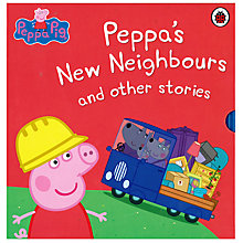 Buy Peppa Pig Peppa's New Neighbours and Other Stories, Pack of 5 Online at johnlewis.com