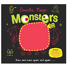 Buy Doodle Magic Monsters Reusable Activity Book Online at johnlewis.com