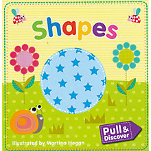 Buy Pull and Discover Shapes Children's Book Online at johnlewis.com