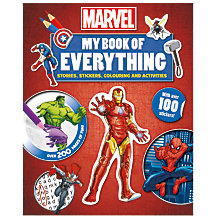 Buy My Book Of Everything, Marvel Online at johnlewis.com