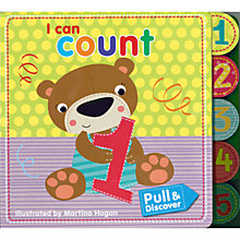 Buy Pull and Discover I Can Count Children's Book Online at johnlewis.com