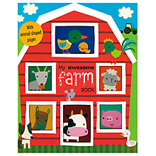 Buy My Awesome Farm Children's Board Book Online at johnlewis.com