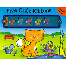 Buy Five Cute Kittens Slide and Count Children's Book Online at johnlewis.com