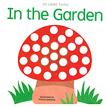 Buy 3D Look Through In the Garden Children's Book Online at johnlewis.com