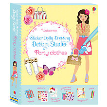 Buy Sticker Dolly Dressing Design Studio Party Clothes Book Online at johnlewis.com