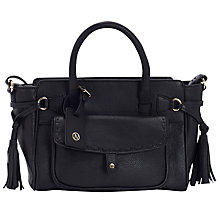 Buy Jacques Vert Stitch Pocket Leather Tote Bag Online at johnlewis.com