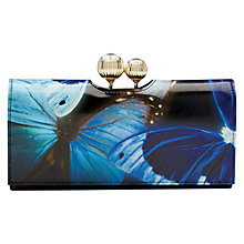Buy Ted Baker Allvie Butterfly Collective Leather Matinee Purse, Black Online at johnlewis.com