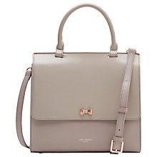 Buy Ted Baker Otillia Top Handle Leather Bag Online at johnlewis.com