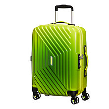 Buy American Tourister Air Force 1 4-Spinner 55cm Cabin Suitcase, Gradient Yellow Online at johnlewis.com