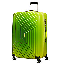 Buy American Tourister Air Force 1 4-Spinner 76cm Suitcase, Gradient Yellow Online at johnlewis.com
