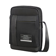"Buy Samsonite Openroad Crossover 9.7"" Flight Bag, Black Online at johnlewis.com"